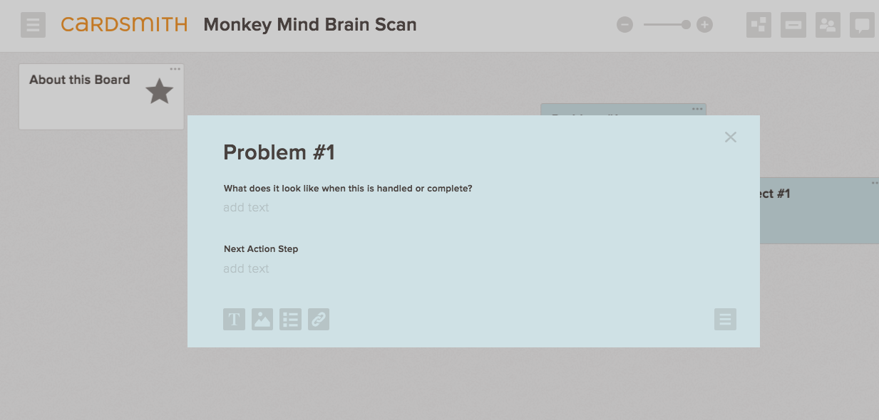monkey mind board example
