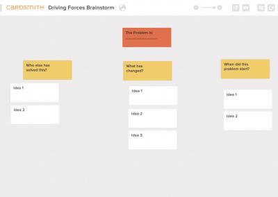 Driving Forces Brainstorm