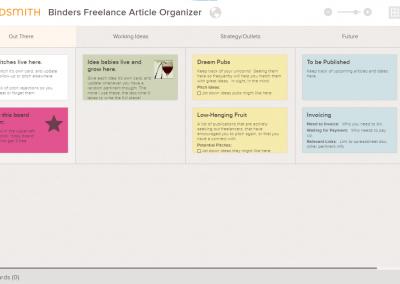 Freelance Writer Article Tracker