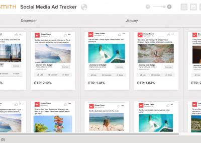 Social Media Ad Tracker