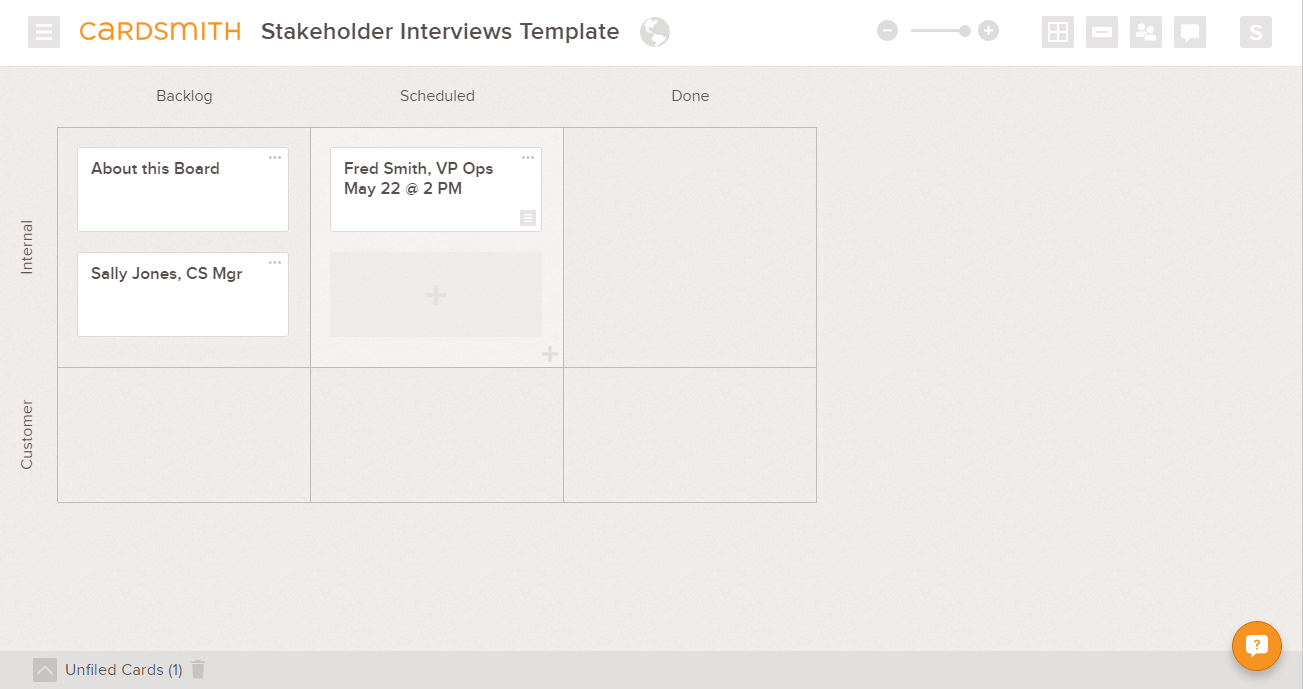 stakeholder interview questions template