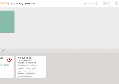 RLCf Key Decisions