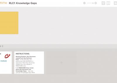 RLCf Knowledge Gaps